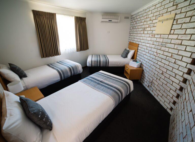 The Heritage Bendigo Motel family accommodation
