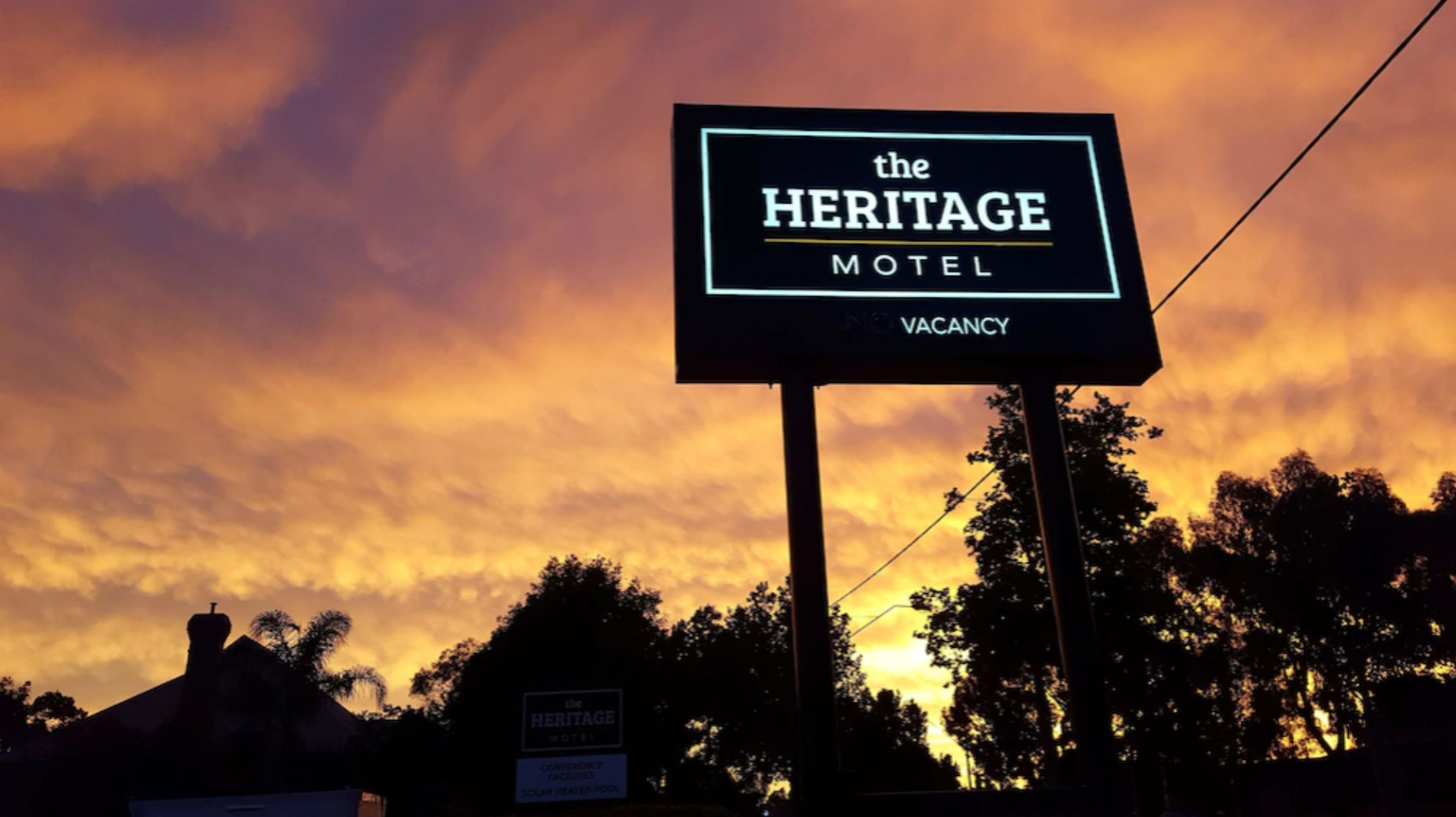 Contact us at The Heritage Bendigo Motel